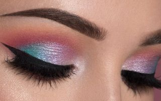Colorful eye looks