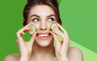 homemade cucumber face mask