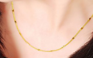 best gold plated chains for women