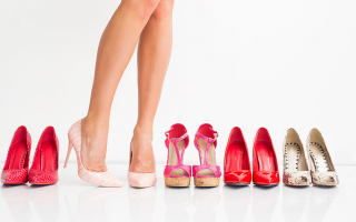 types of women footwear