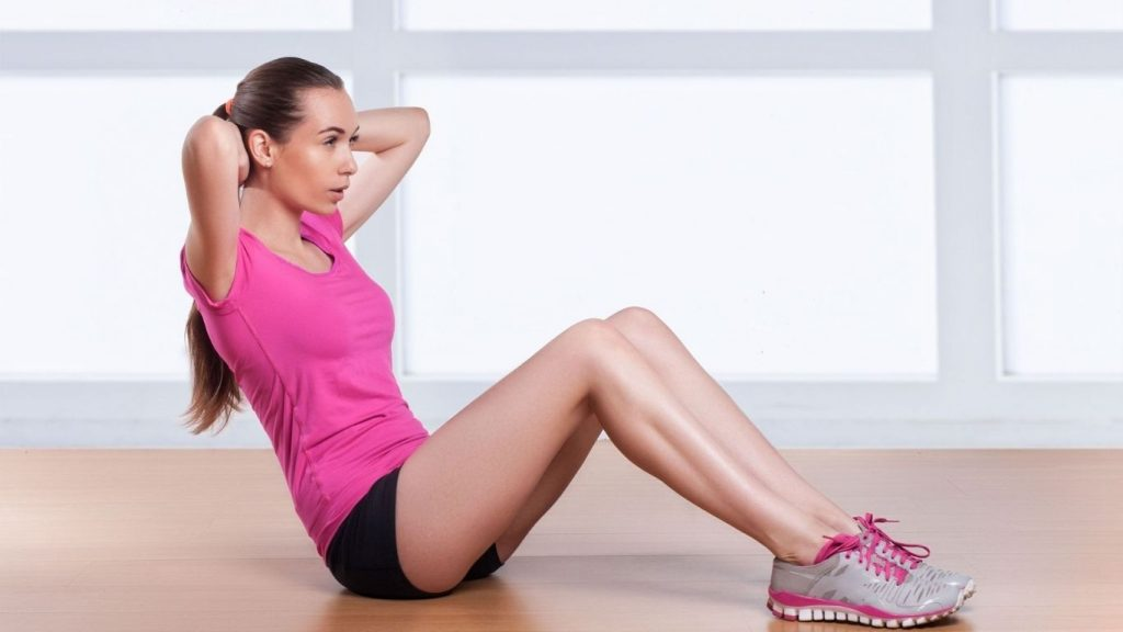 Crunches for belly fat