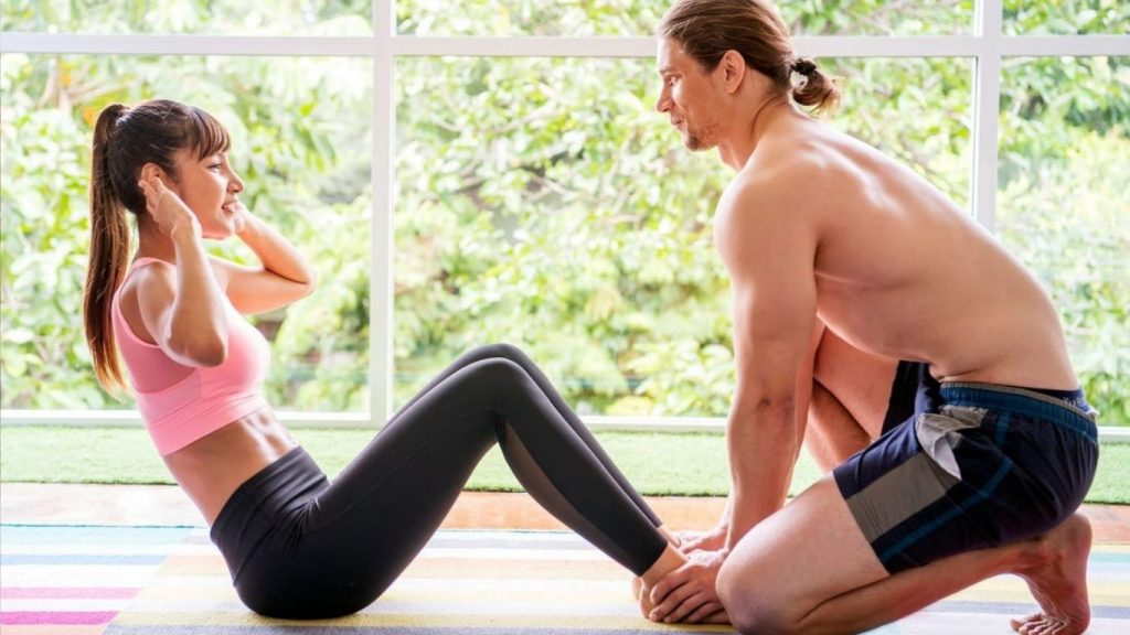 Sit ups to reduce belly fat