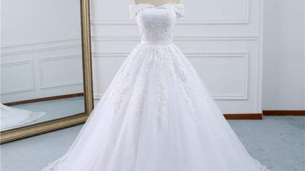 Wedding gown retro dresses for women